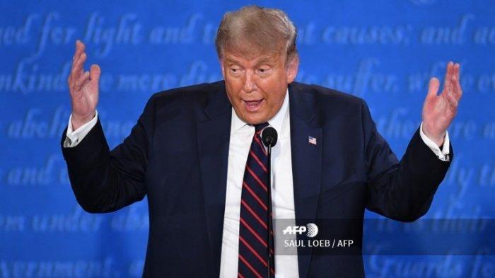 H-31 Menuju Pemilu AS 2020: Trump Jalani Karantina karena Positif Corona & Batalkan Jadwal Kampanye