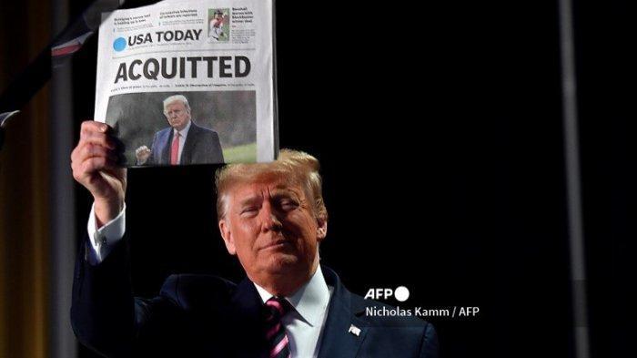 Donald Trump Ditinggal 5 Pengacaranya Sepekan Sebelum Sidang Pemakzulan Kedua