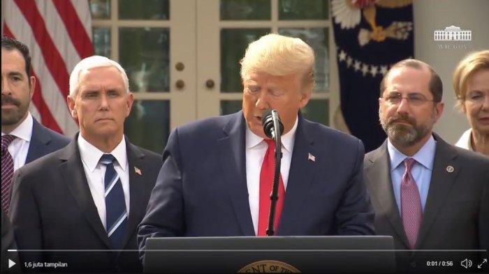 Presiden AS Donald Trump Umumkan Darurat Nasional Virus Corona
