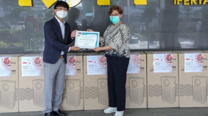 Bantu Lindungi Tenaga Medis, Coway Indonesia Sumbang Air Purifier ke 8 RS Rujukan Covid-19