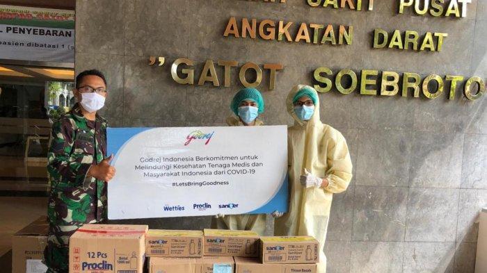 Godrej Indonesia Donasikan Produk yang Efektif Lawan Virus Corona Ke 74 Rumah Sakit
