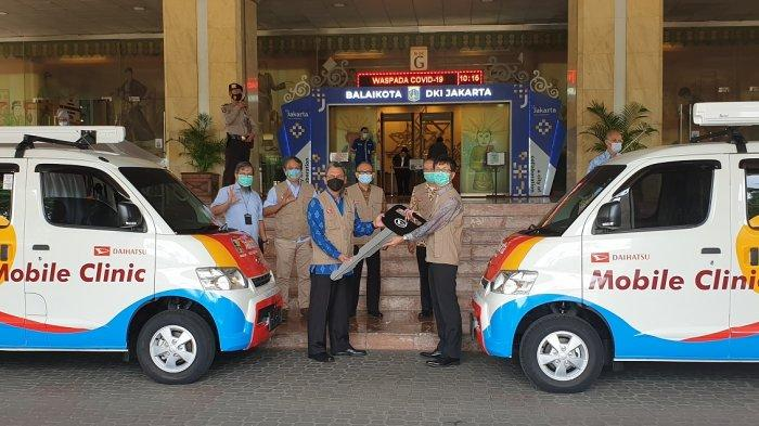 Daihatsu Donasi 2 Unit Gran Max Modifikasi Mobile Clinic untuk Pemprov DKI Jakarta