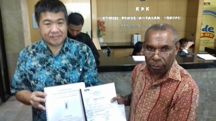 Dugaan Korupsi Sound System, Bupati Fakfak Dilaporkan ke KPK