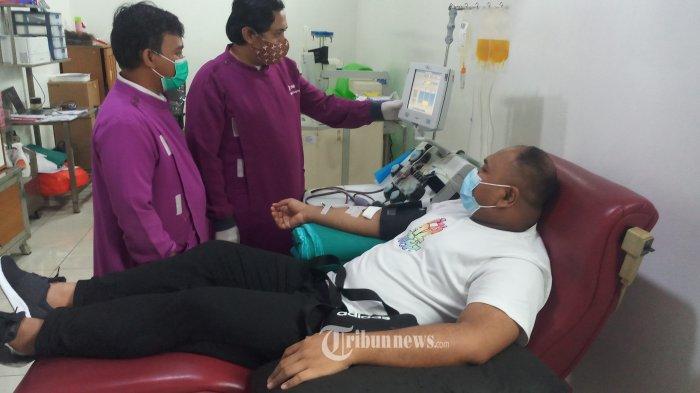 Menko PMK Ajak Penyintas Covid-19 Donor Plasma Konvalesen