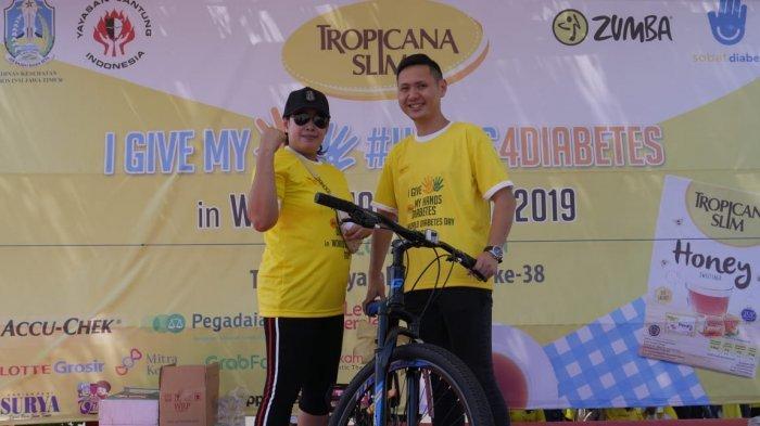 Penyerahan Doorprize Utama Tropicana Slim World Diabetes Day 2019