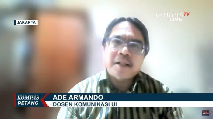 Dosen Komunikasi UI, Ade Armando