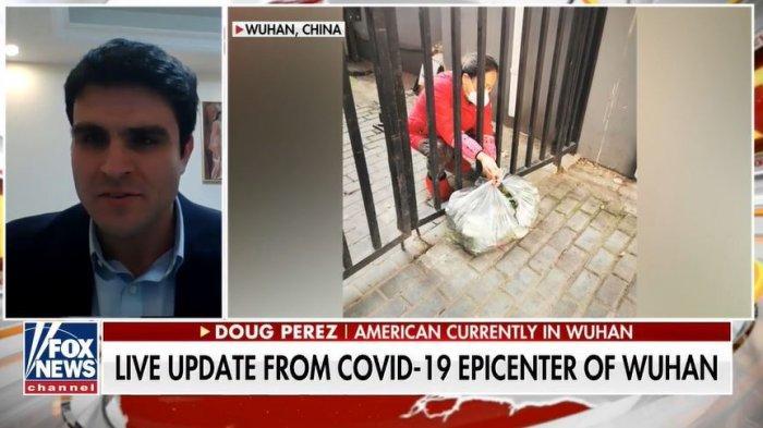 Kondisi terkini Wuhan diungkap seorang warga San Francisco yang kini menetap di Wuhan, Doug Perez. (Tangkap Layar foxnews.com)