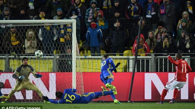 Gol ke-400 Bayern Muenchen di Liga Champions Disumbangkan Douglas Costa