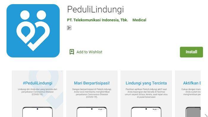 Cara Menggunakan Aplikasi Pedulilindungi Untuk Melacak Penyebaran Covid 19 Download Di Sini Tribunnews Com Mobile