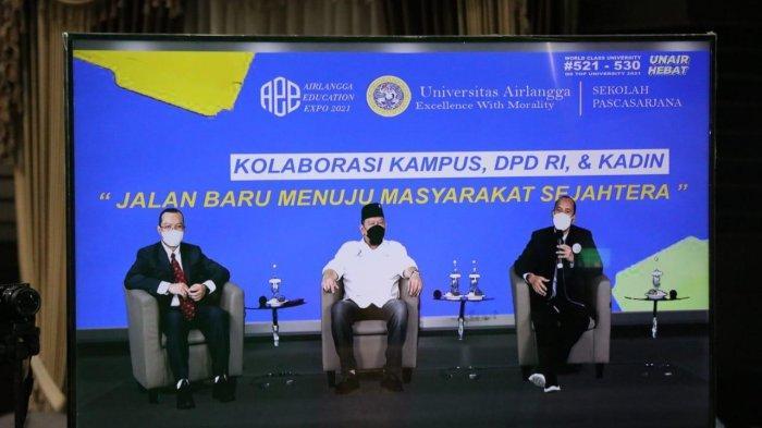 LaNyalla Yakini Kolaborasi Kampus, DPD RI dan Kadin akan Wujudkan Indonesia Sejahtera