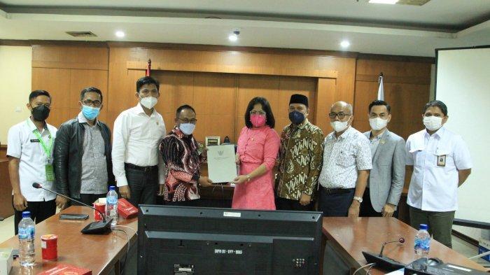 Terkait Standar Harga Satuan Regional, Bapemperda Kabupaten Majene Audiensi Ke PPUU DPD RI