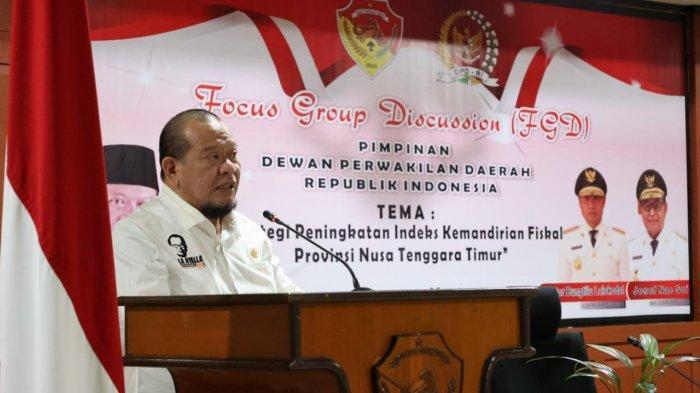 Tingkatkan Indeks Kemandirian Fiskal Daerah, Ketua DPD RI Dorong Produk Lokal Masuk E-Catalog