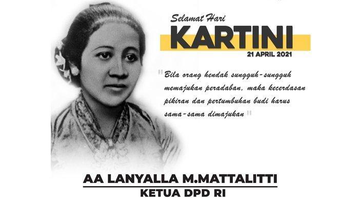 Ketua DPD RI: Semangat Kartini Harus Tetap Menyala