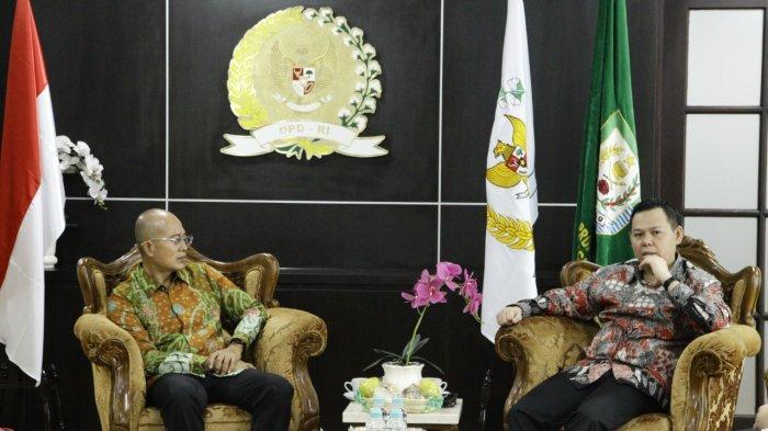 DPD RI Siap Membantu Penyelesaian Hibah Lahan TNI AU Ke Pemkab Bengkulu Selatan