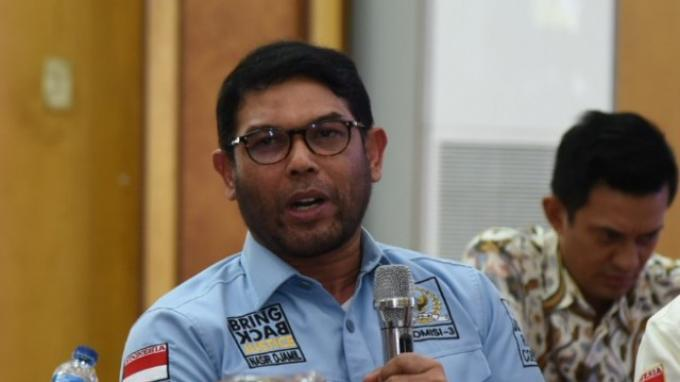 Anggota Komisi III DPR RI Nasir Djamil