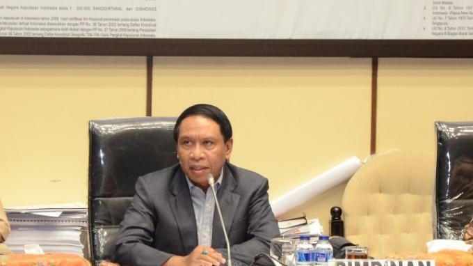 Ketua Komisi II DPR RI Zainudin Amali.