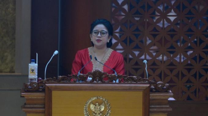 Ketua DPR RI terpilih masa bakti 2019 - 2024 Puan Maharani