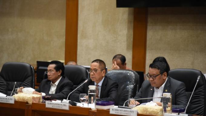 Komisi XI Terima Evaluasi Kinerja APBN 2019