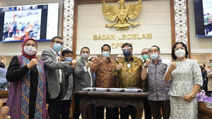 Ini Nama-nama Pimpinan dan Anggota Baleg DPR, Mereka yang Bahas dan Setujui RUU Cipta Kerja