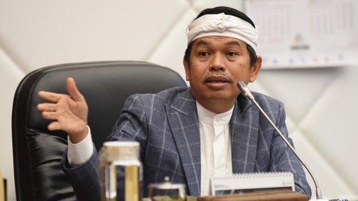 Wakil Ketua Komisi IV DPR RI Dedi Mulyadi saat RDP dengan Badan Keahlian DPR RI di Gedung DPR RI, Senayan, Jakarta, Selasa (15/6/2021).
