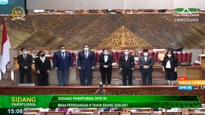 DPR Setujui 3 Nama Hakim Ad Hoc Mahkamah Agung