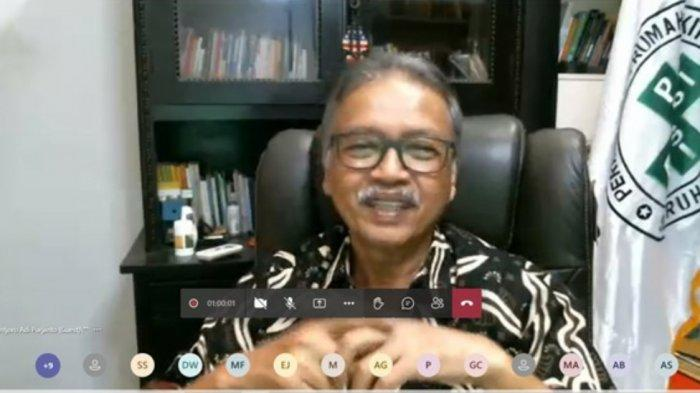 Ketum Persi Berharap Rumah Sakit Siap Hadapi Perkembangan Teknologi 4.0