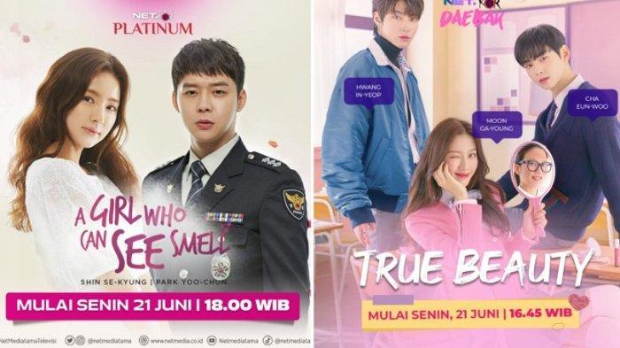 Drama Korea ''True Beauty'' dan ''A Girl Who Can See Smell'' Tayang di Layar Kaca Indonesia