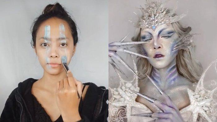 Viral Video Penampilan Wanita Berubah Drastis setelah Pakai Make Up Art, Ini Cerita di Baliknya