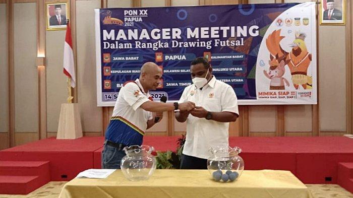 Hasil Drawing Futsal PON XX Papua: Diikuti 10 Tim, Tuan Rumah di Grup A, Berikut Daftar Lengkapnya