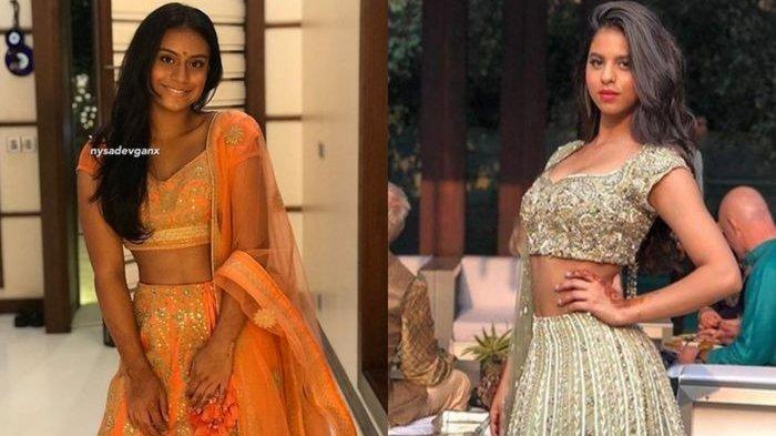 Adu Gaya Putri Shahrukh Khan dan Kajol dengan Dress Khas India, Pilih Mana?