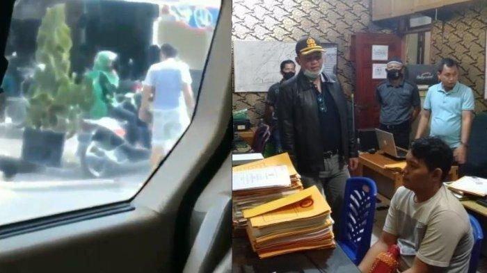 Viral Driver Ojol Ditendang hingga Terjungkal, Pelaku Ancam Tembak Korban, Hasil Tes Positif Narkoba