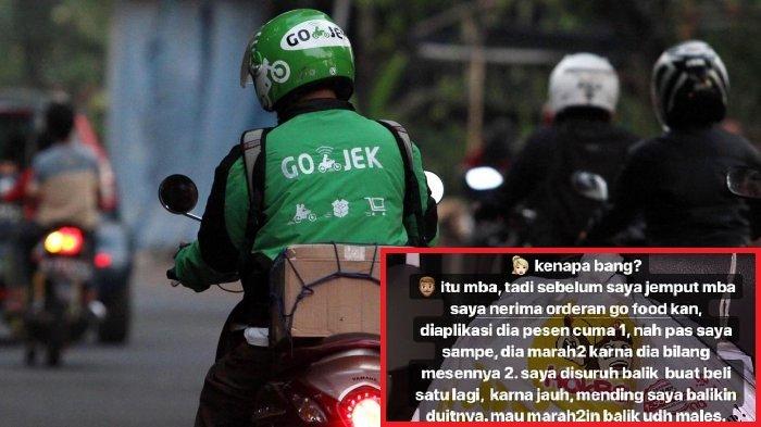 Driver Ojol Kena Marah karena Pelanggan Salah Pesan, Sikap Cewek ini Dipuji Netizen: Masuk Surga