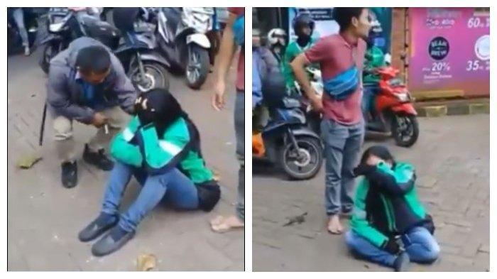 Viral Video! Motornya Hilang Saat Ambil Orderan, Driver Ojol Wanita Ini Menangis Pilu: Tega Banget