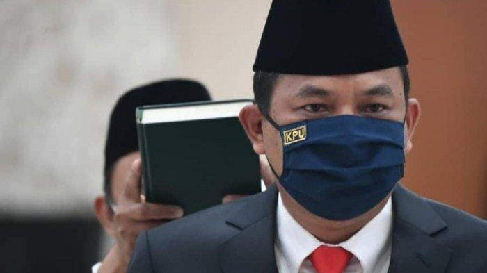 Bernad Dermawan Sutrisno Dilantik Menjadi Sekjen KPU RI