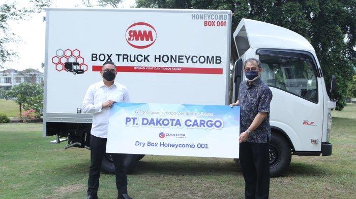 Pertama di Indonesia, Karoseri Boks Truk Berteknologi Honeycomb: Ringan dan Mereduksi Panas