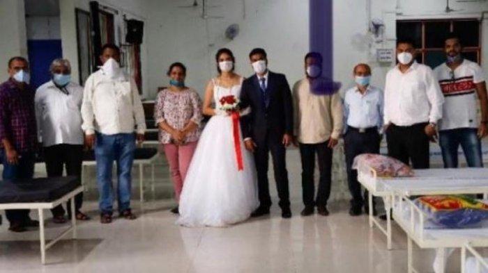 Baru Menikah, Sejoli Ini Sumbangkan 50 Kasur dan Tabung Oksigen untuk Pasien Corona