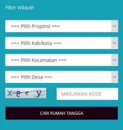 menu Daftar Ruta DTKS