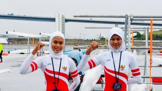 Latihan Hanya di Dalam Negeri Bukan Masalah Bagi Atlet Dayung Indonesia Melani Putri