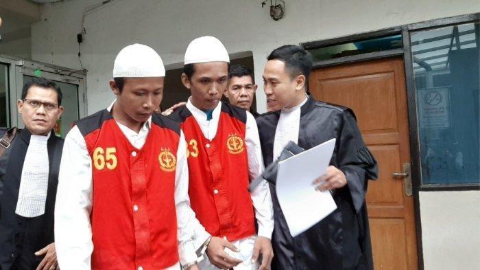 Sidang Dakwaan Kasus Pembunuhan Ayah-anak: Sempat Mau Sewa Dukun, 2 Eksekutor Terancam Hukuman Mati