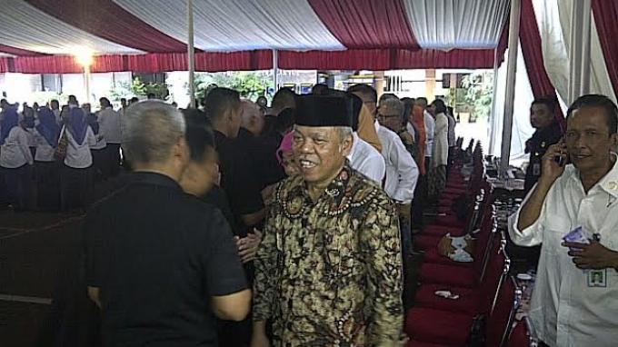 Dua Jam Berdiri Menteri PUPR Minta Maaf ke Semua Pegawai