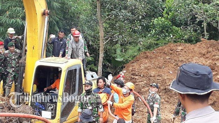 5 Korban Tewas Akibat Longsor di Bogor Ditemukan, 4 Lainnya Masih Proses Pencarian