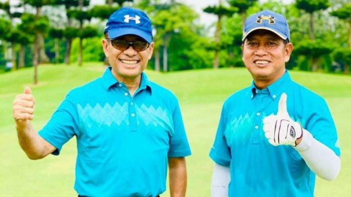 Dua Mantan Menteri Ramaikan UI Charity Golf Tournamen