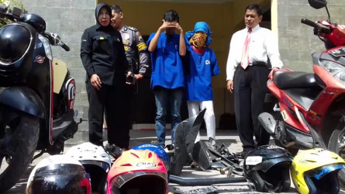 Hendra Jual Sepeda Motor Curian Rp 2,5 Juta