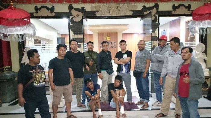 Due Spesialis Pecah Kaca Ditembak Kakinya di Badung