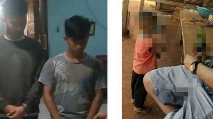 Video Pengkuan 2 Pemuda Pengangguran yang Cekoki Miras ke Balita, Korban Sempoyongan Lalu Jatuh