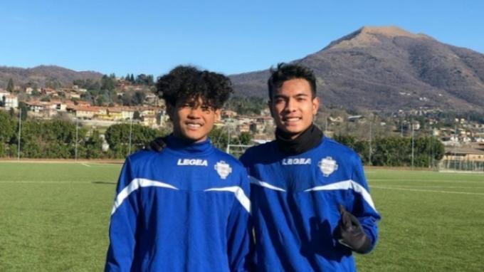 Dua pemain Garuda Select, Amiruddin Bagus Kahfi dan Brylian Aldama mendapatkan kesempatan berlatih dengan tim Serie C Italia, Como.