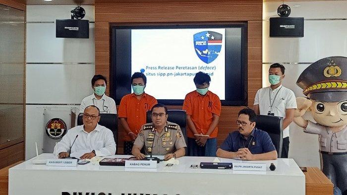 2 Peretas Website Pengadilan Negeri Jakarta Pusat Diketahui Hanya Lulusan SD dan SMP