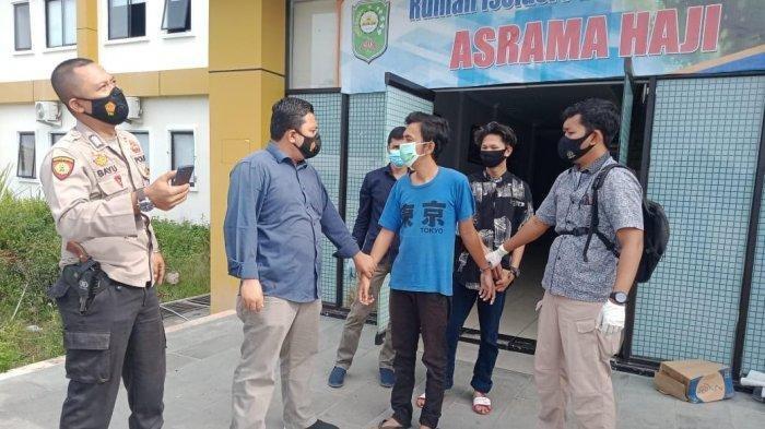 Polisi Gerebek 2 Pria yang Asyik Tidur di Kamar Pasien Covid-19, Ternyata Maling, 3 TV Sudah Raib