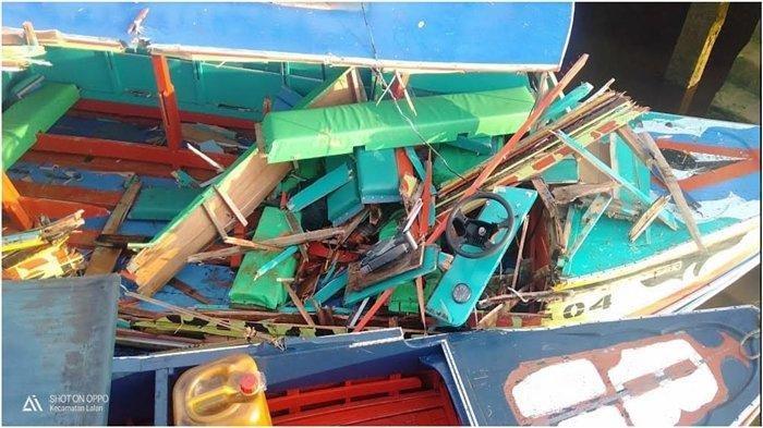 Kecelakaan di Desa Agung Jaya Kecamatan Lalan Muba melibatkan Speedboat Wawan Putra dan Speedboat Semoga Abadi 04, Kamis (3/12/2020).