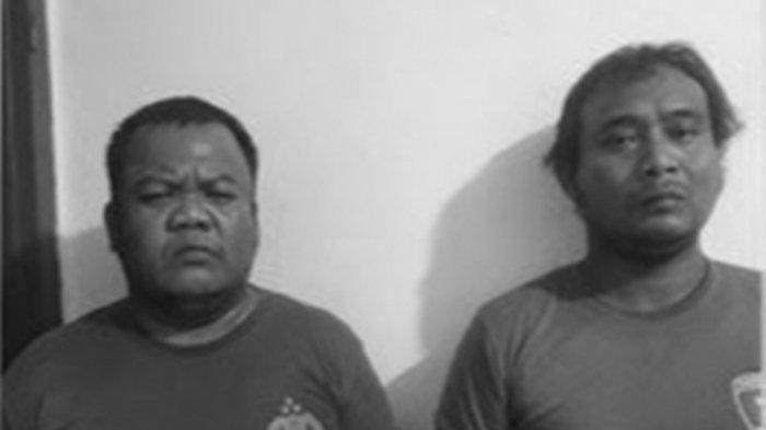 Dua tahanan Polsek Sunggal yang meninggal, Rudi Efendi (40) dan Joko Dedi Kurniawan (36).